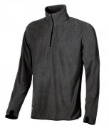 mikina fleece ARTIC ENJOY, black carbon
