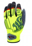rukavice U-POWER BIKER GP, yellow fluo
