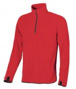 mikina fleece ARTIC ENJOY, red magma