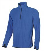 mikina fleece ARTIC ENJOY, blue neon